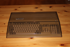 Amiga 500 in plastic cover 2