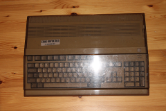Amiga 500 in plastic cover 1