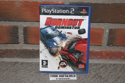 Burnout Dominator (cover)