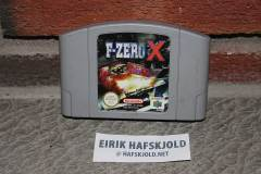 F-Zero X (front cartridge)