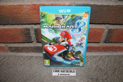 Mario Kart 8 (front cover)