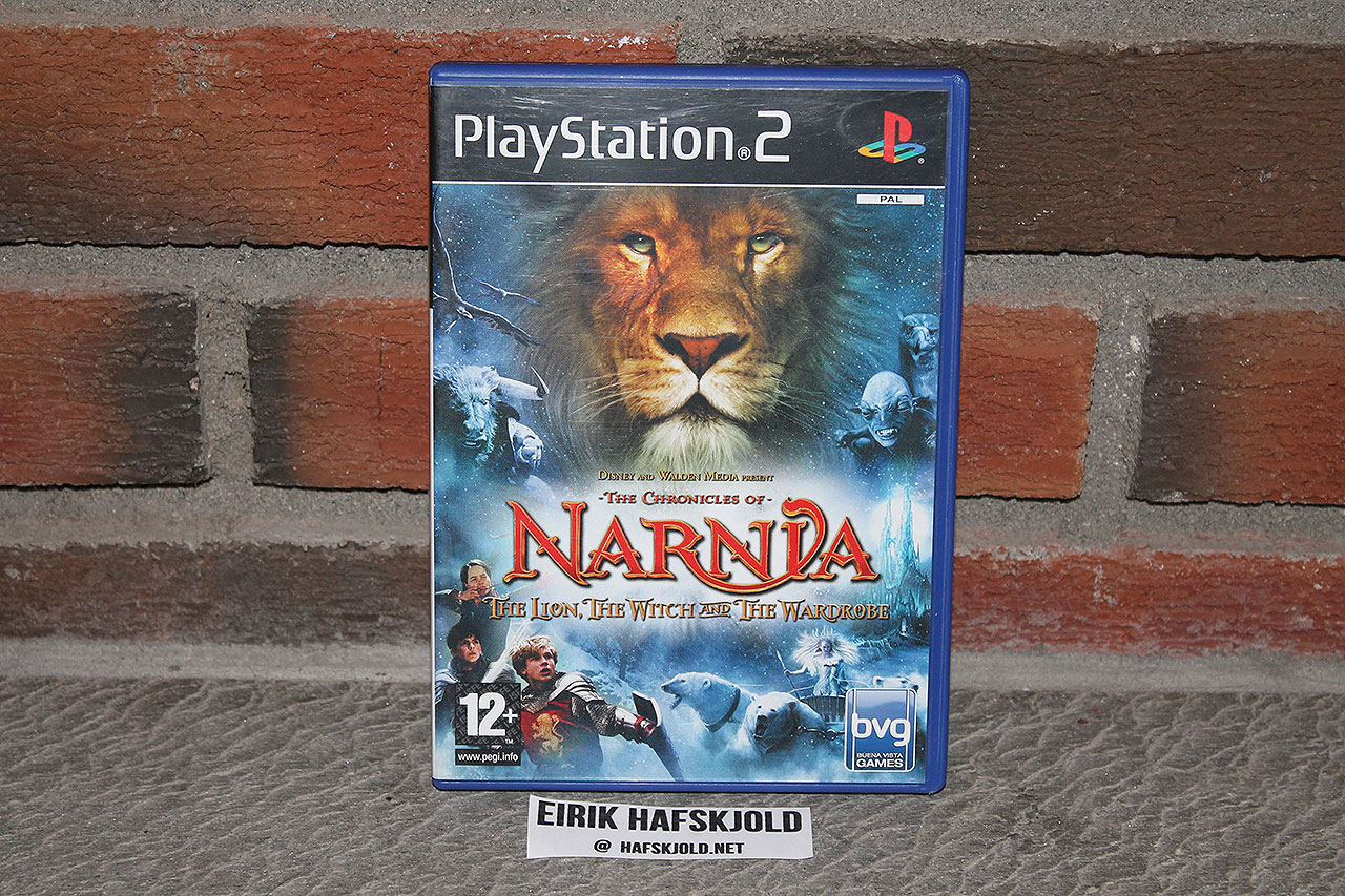 The Chronicles of Narnia: The Lion, the Witch and the Wardrobe (cover)