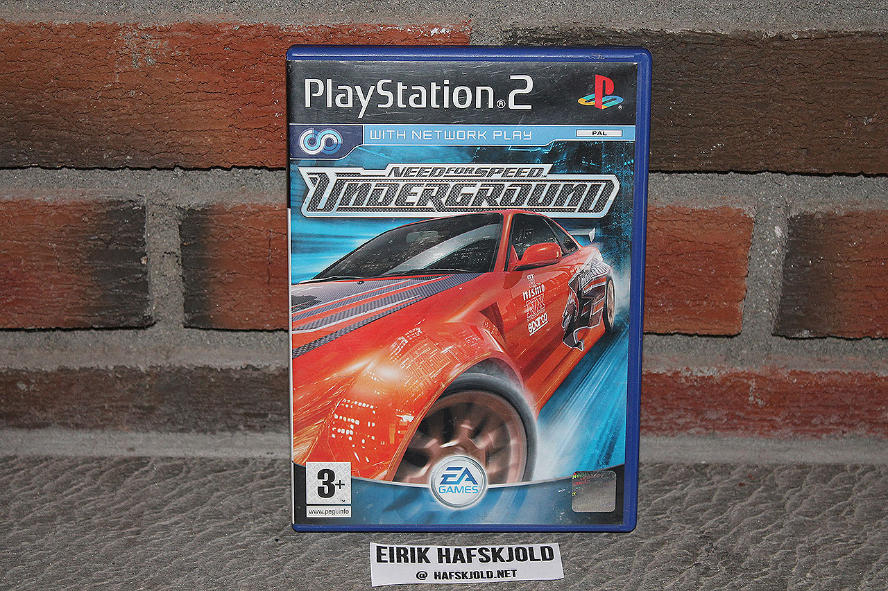 Need for Speed Underground (cover)