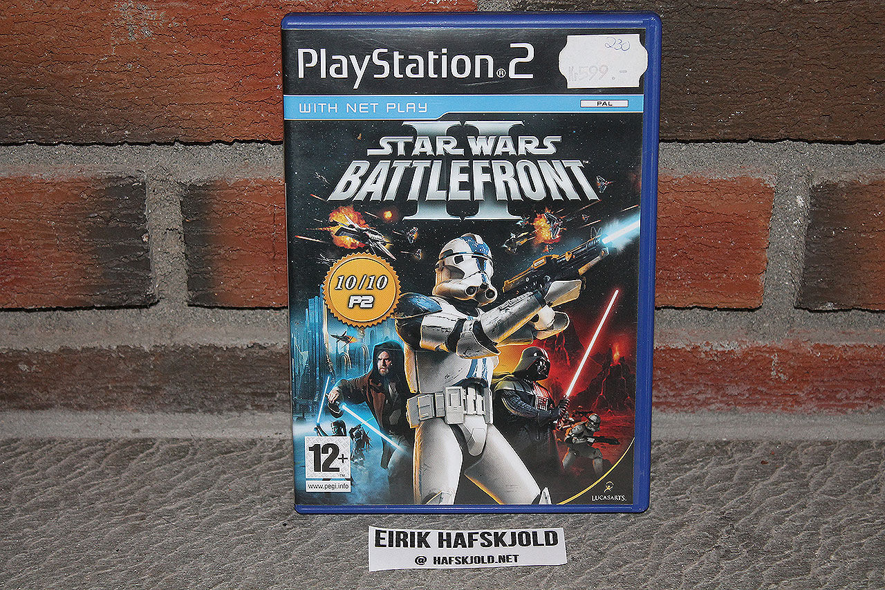 Star Wars - Battlefront II (cover)