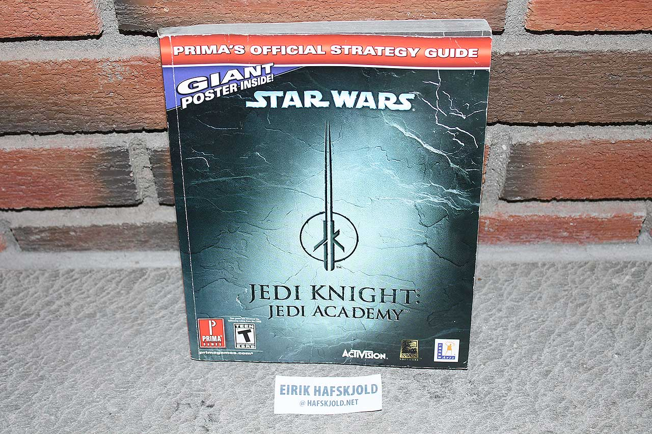 Star Wars Jedi Knight: Jedi Academy (Prima's Official Strategy Guide)