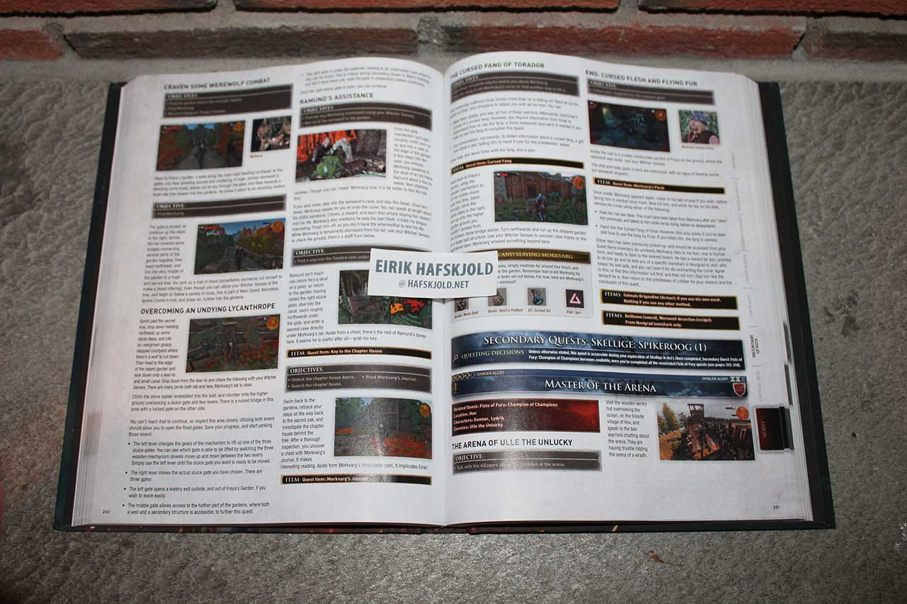 The Witcher 3: Wild Hunt: Prima Official Game Guide (inside)