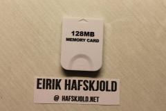 Nintendo Gamecube (128MB Memory Card)