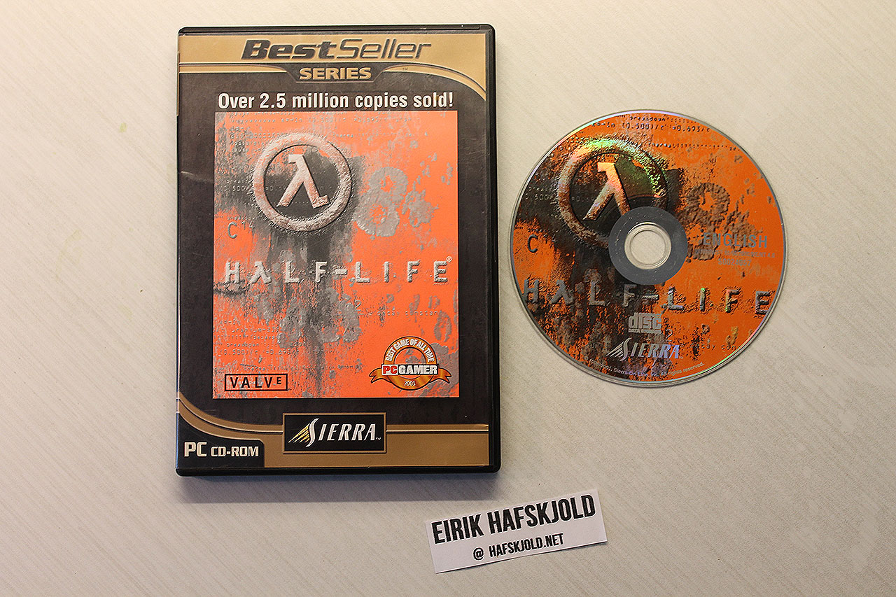 Half-Life (cover and disc)