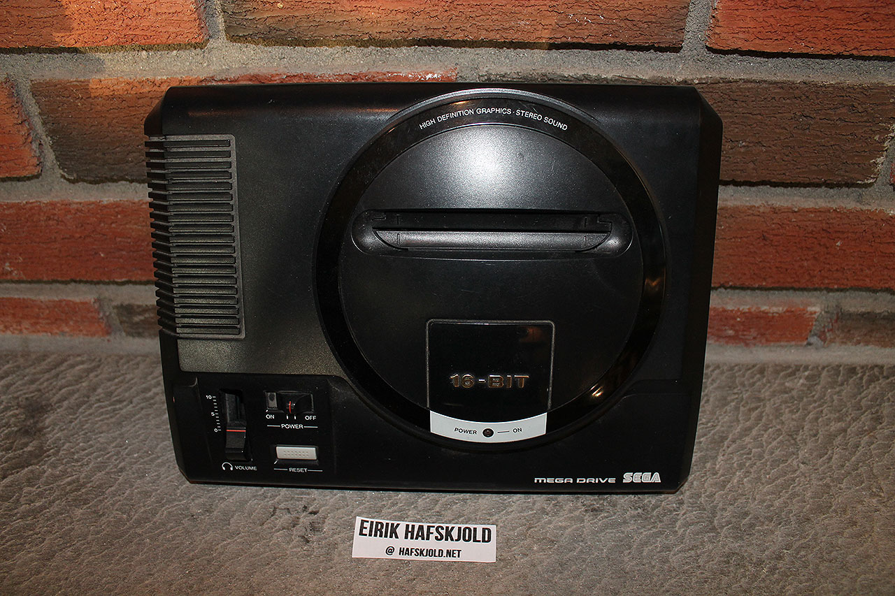 Sega Mega Drive (top)
