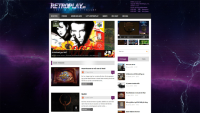 RetroPlay.no - Header