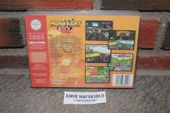 Mario Kart 64 (back box)