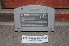 Mario Kart 64 (back cartridge)