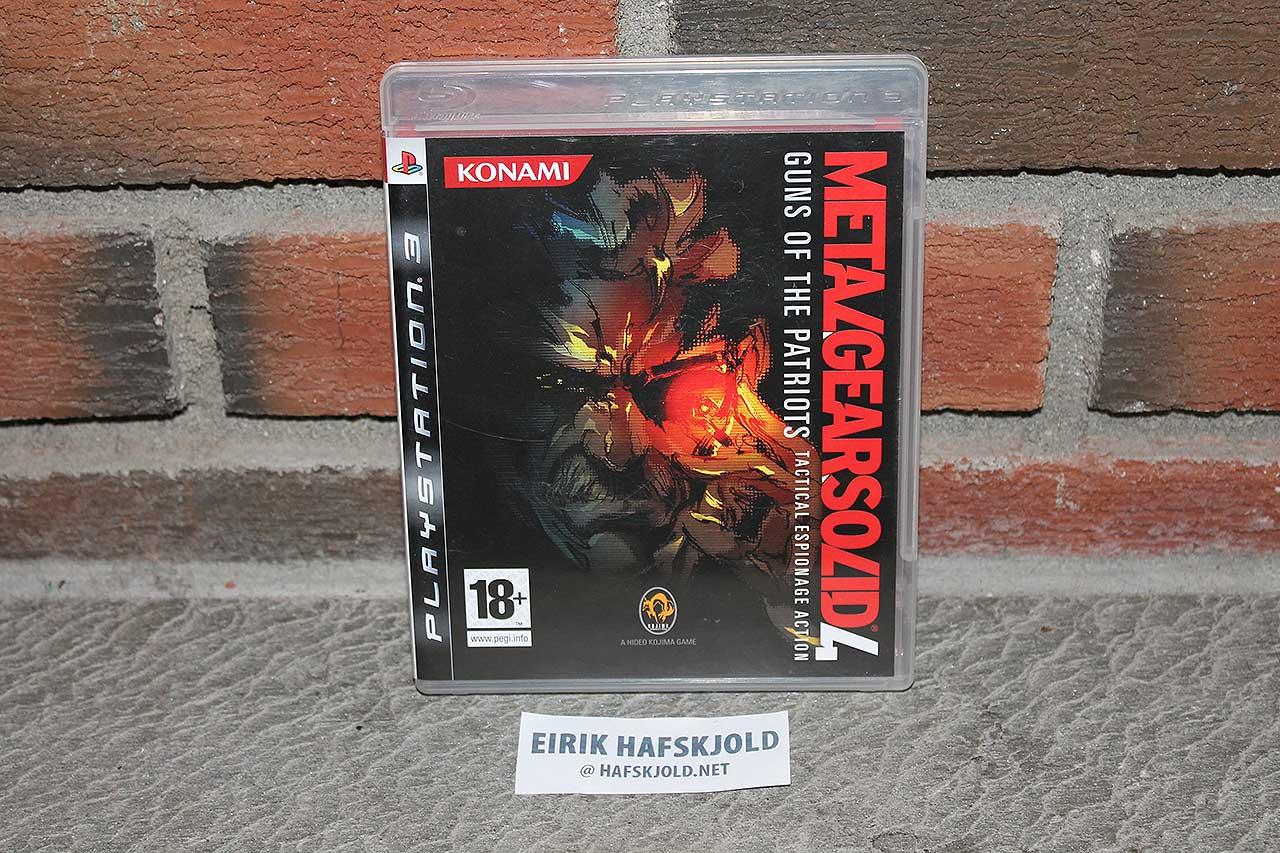 Metal Gear Solid 4: Guns of the Patriots