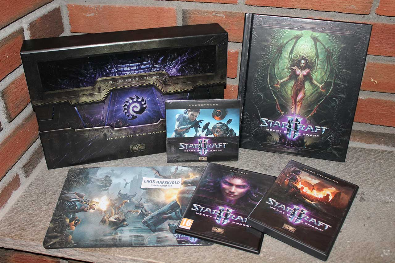 Starcraft II: Heart of the Swarm (displayed)