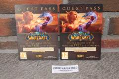 World of Warcraft Battle Chest (guest passes front)