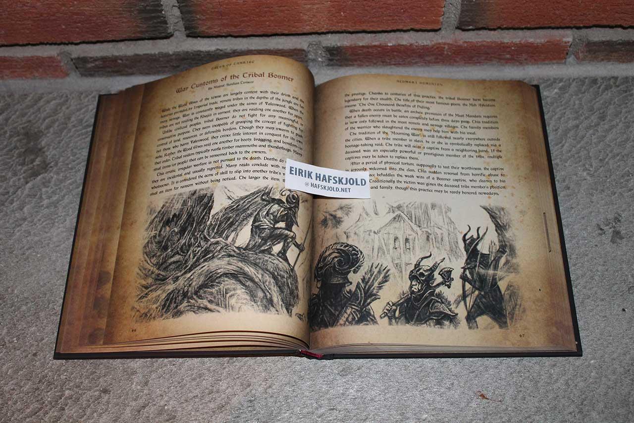 The Elder Scrolls Online: Tales of Tamriel - Vol. I: The Land (inside)