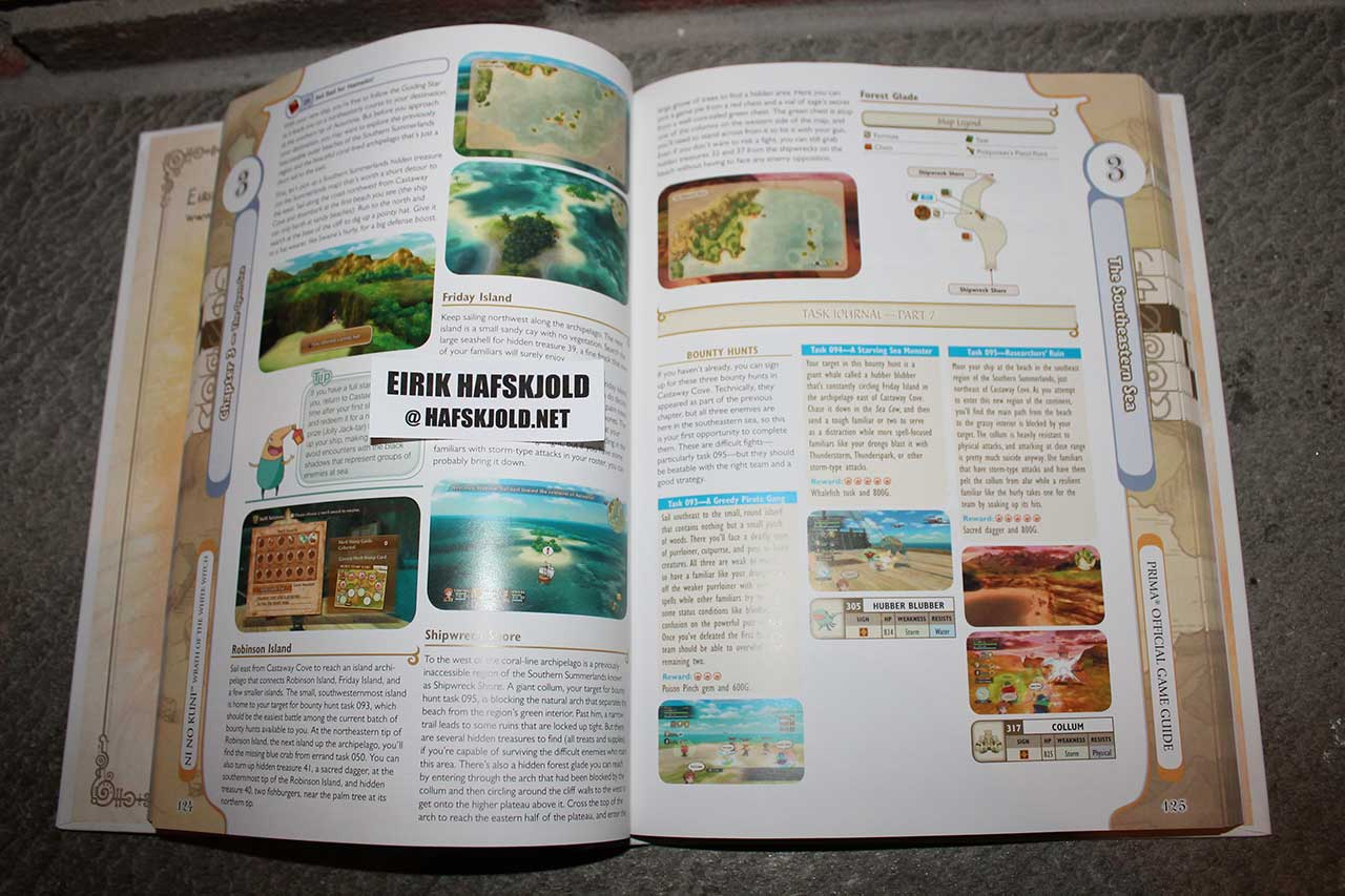 Ni No Kuni: Wrath of the White Witch: Prima Official Game Guide (inside)