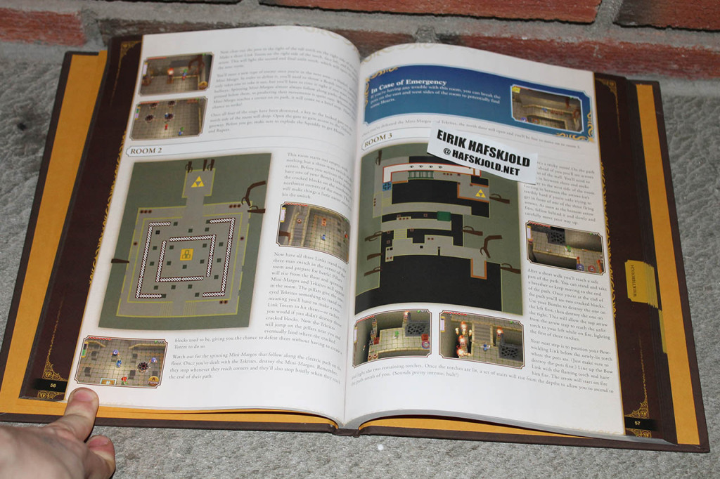The Legend of Zelda: Triforce Heroes Strategy Guide (inside)