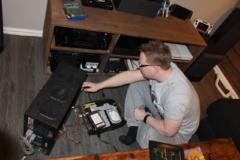 Lars modder på Xboxen