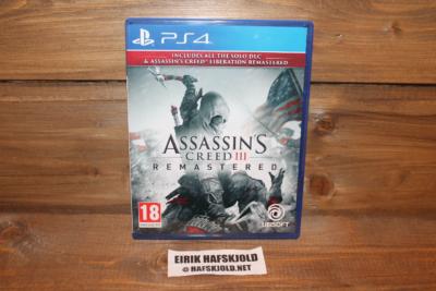 Assassin's Creed III: Remastered