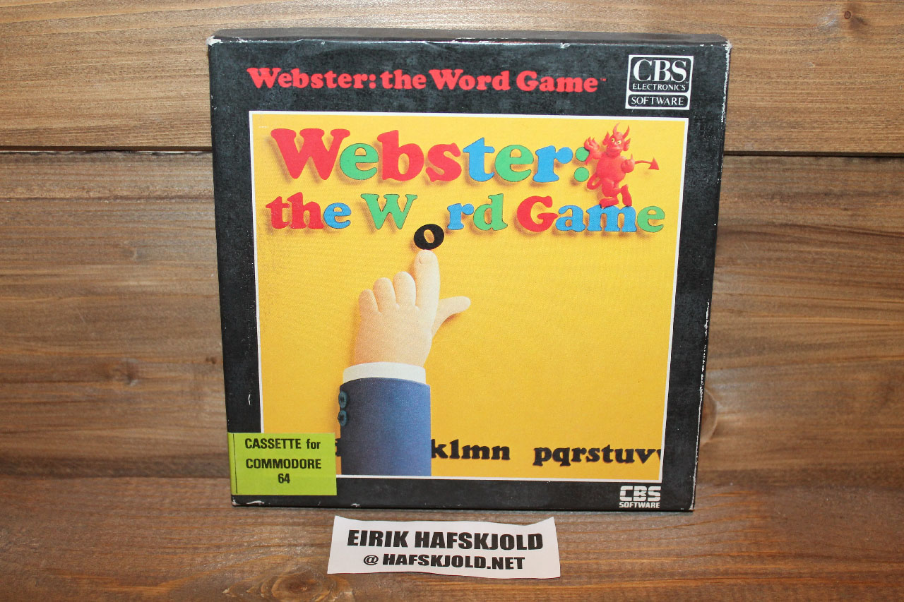 Webster: The Word Game